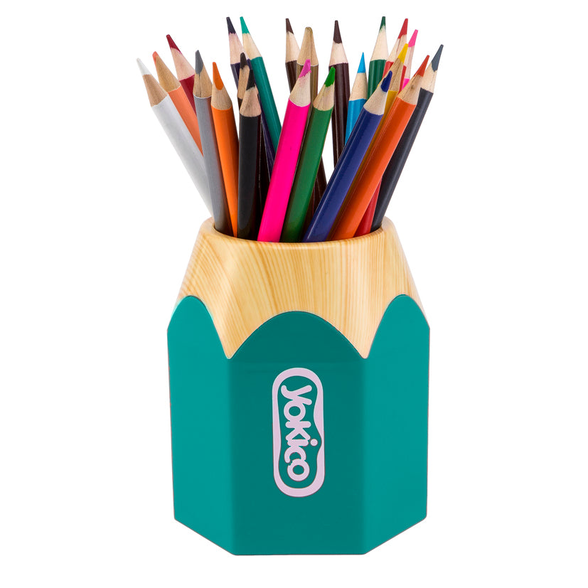 Green Pencil Pen Cup