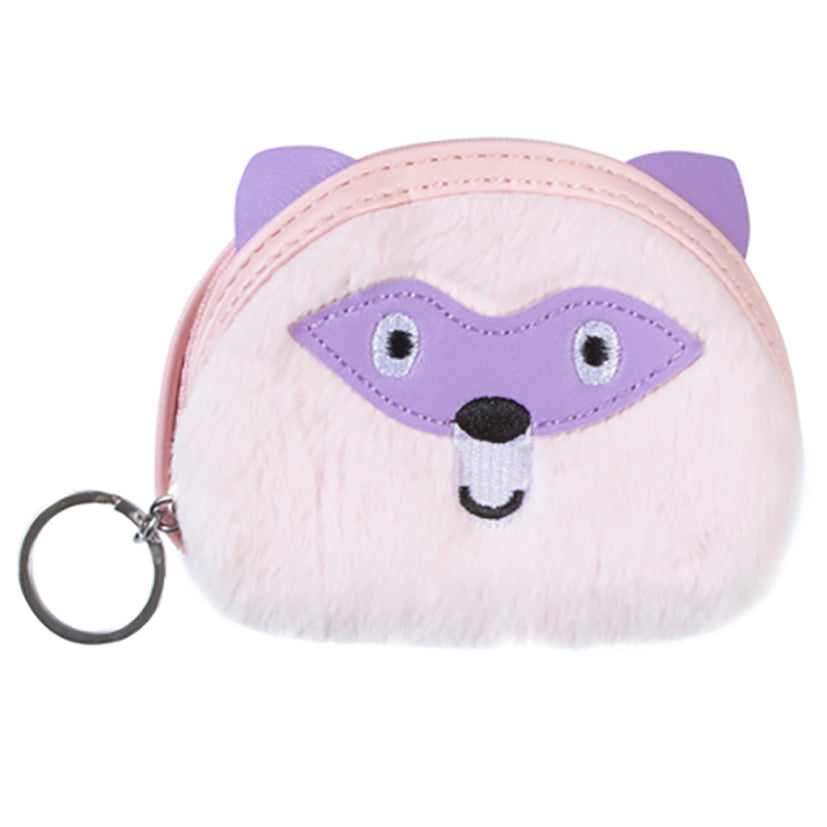 Spike Coin Purse Keychain