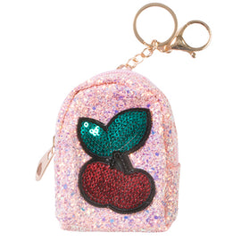 Cherry Coin Purse Keychain