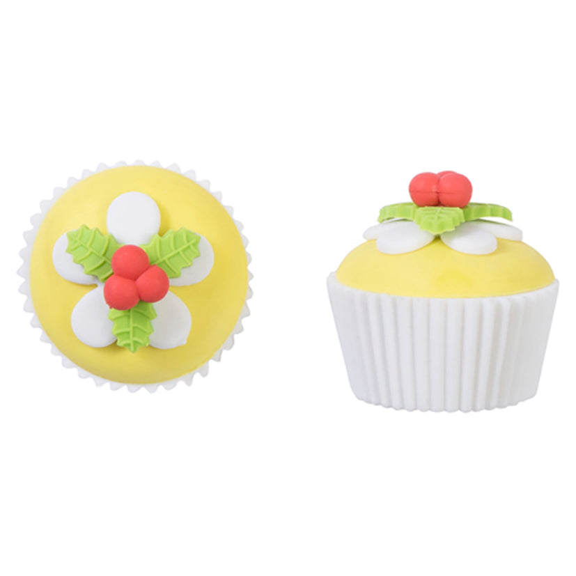 Cupcake Erasers -Yellow
