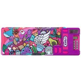 Graffiti Pink Press&Pop Pencil Case