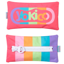 Rainbow Big Zipper Pencil Case