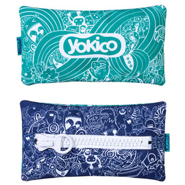 Doodle Big Zipper Pencil Case
