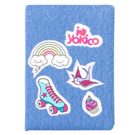Denim Sticker Journal