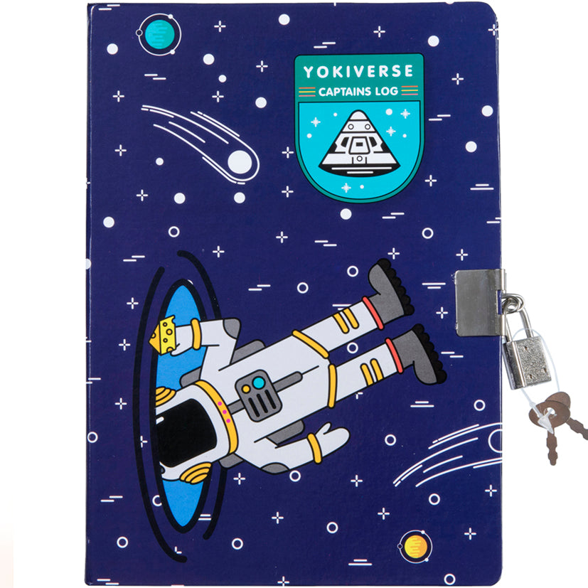 Lockable Space A5 Journal