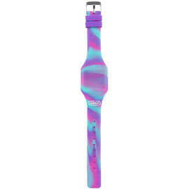 Pink & Purple Silicone Digital Watch