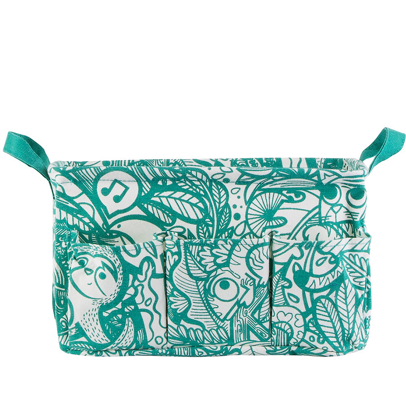 Green Jungle Art Organiser