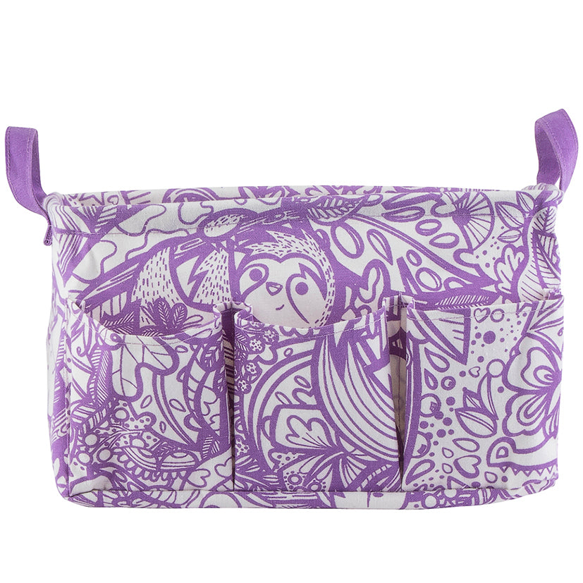 Purple Jungle Art Organiser