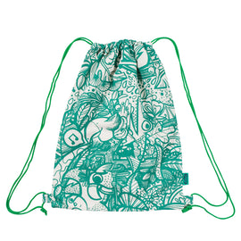 Green Jungle Draw-String