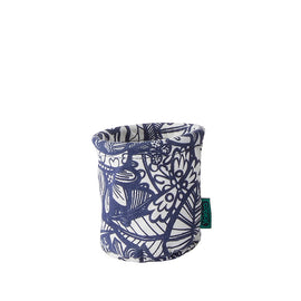 Blue Jungle Fabric Pen Cup