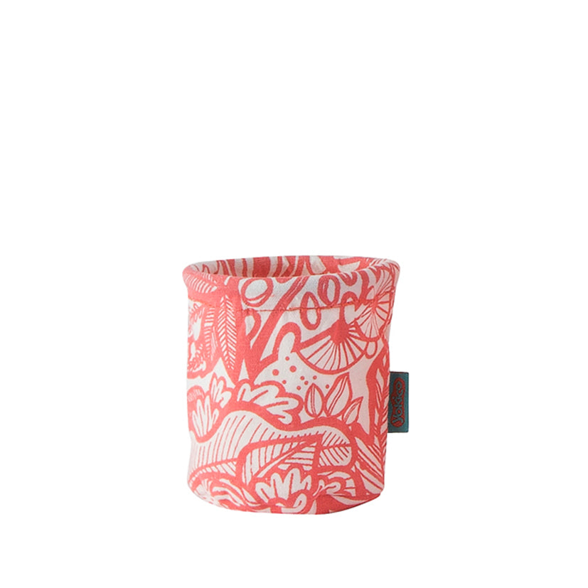 Pink Jungle Fabric Pen Cup