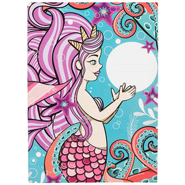 Mermaid A4 Exercise Book