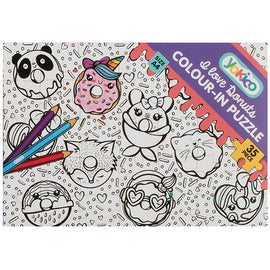 I love Donuts Colour-in Puzzle