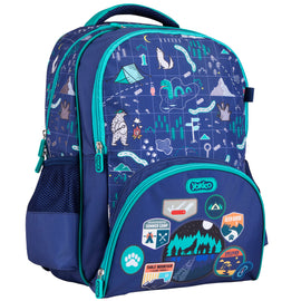 Blue Adventure Maps Backpack