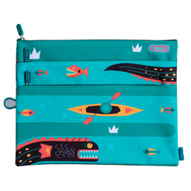 Wild Things X-large Pencil Case