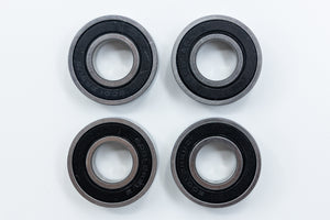 "Wheelchair Bearings 6001-1/2 ABEC-1 28mm OD, 1/2"" ID"