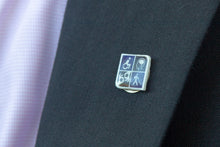 Load image into Gallery viewer, Image of disability pride lapel pin