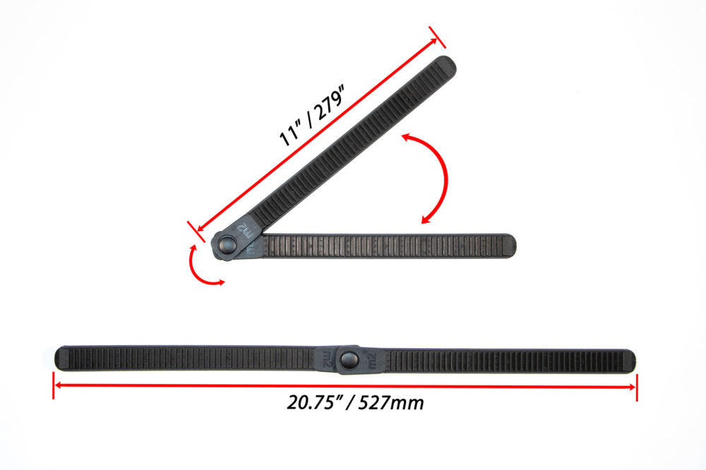"1"" x 21"" Replacement V-Strap for M2 Padded ""Click Strap"""