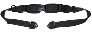 "Stealth Structured 1"" Double Pull Seat Belt with Pads"