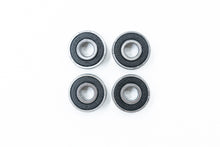 Load image into Gallery viewer, Caster Wheelchair Bearings 608 8mm ABEC-1 8x22x7/9mm with 9mm Extended Race (4-Pack) READ DESCRIPTION