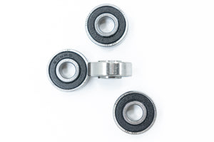 Caster Wheelchair Bearings 608 8mm ABEC-1 8x22x7/9mm with 9mm Extended Race (4-Pack) READ DESCRIPTION