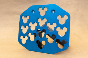 Custom Colorful Wheelchair Footplates