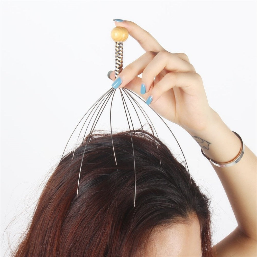 Anti-Stress Scalp Massager