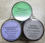 Soy Candle Limited Edition Froggys Fog Scents 5 ounce candle