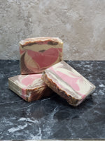Pink Orchid and Amber Fragrance<br/>Hand Crafted Soap