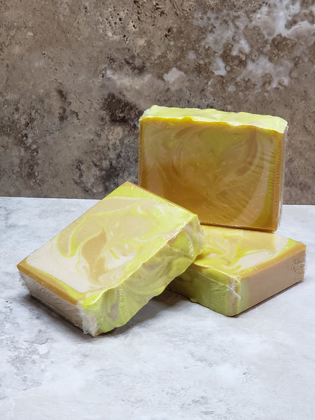 Lemon Fragrance<br/>Hand Crafted Soap