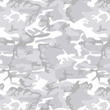 Arctic White Snow Camouflage Women's Leggings - USA Made