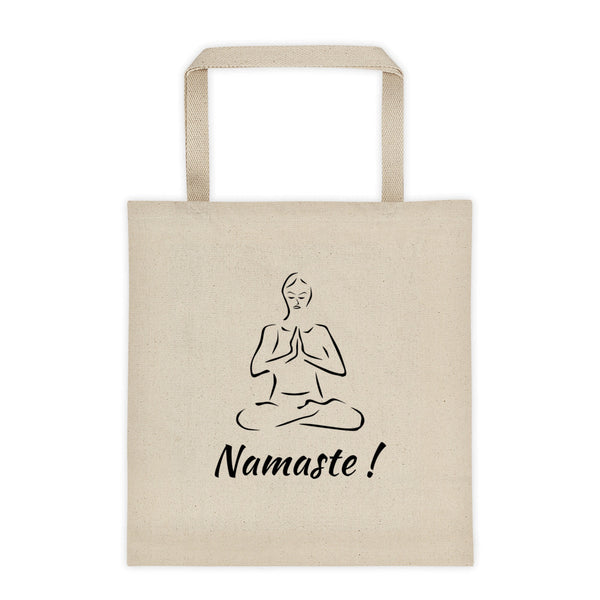 Namaste Yoga Tote bag - YUBDesigns