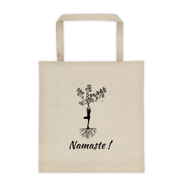 Tree of Life Namaste Yoga Tote bag - YUBDesigns