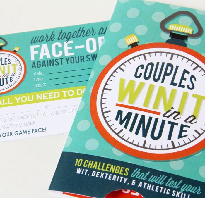 "Couples' ""Win It In A Minute"" Game Night"