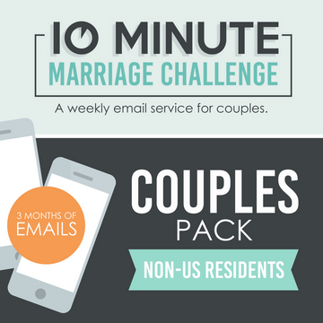 10 Minute Marriage Challenge FOR COUPLE NON U.S.