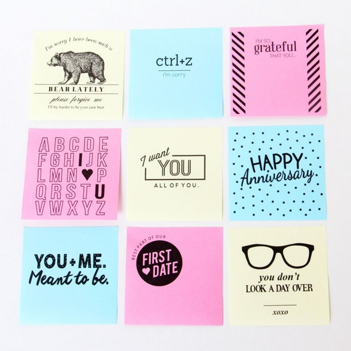 photo relating to Printable Sticky Notes referred to as Printable Sticky Notes