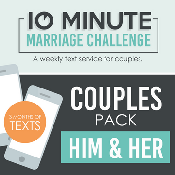 10 Minute Marriage Challenge FOR COUPLES