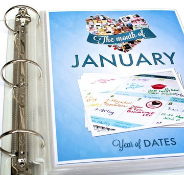 Year of Dates Binder – Complete Set