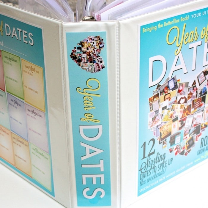 Year of Dates Binder – Binder Set