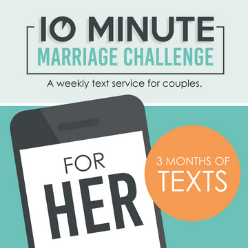 10 Minute Marriage Challenge FOR HER