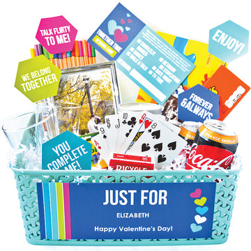 Love Language Gift Basket: Quality Time & Conversation