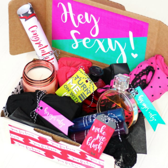 DIY Sexy Subscription Box
