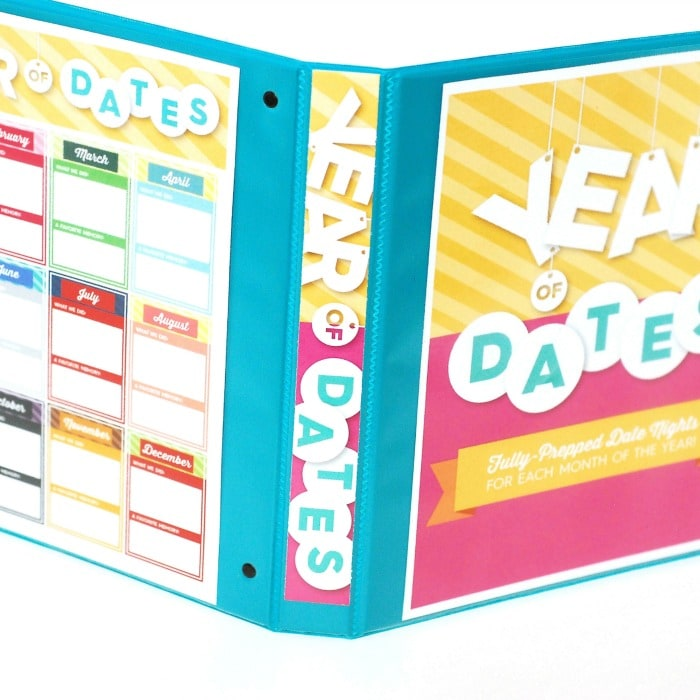 Year of Dates 2.0 Binder Set