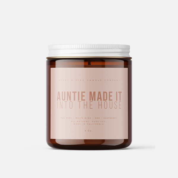 Auntie Made It Scented Candle - Scent & Fire Candle Co.