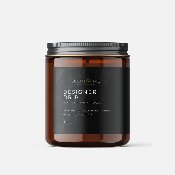 Designer Drip - Scent & Fire Candle Co.