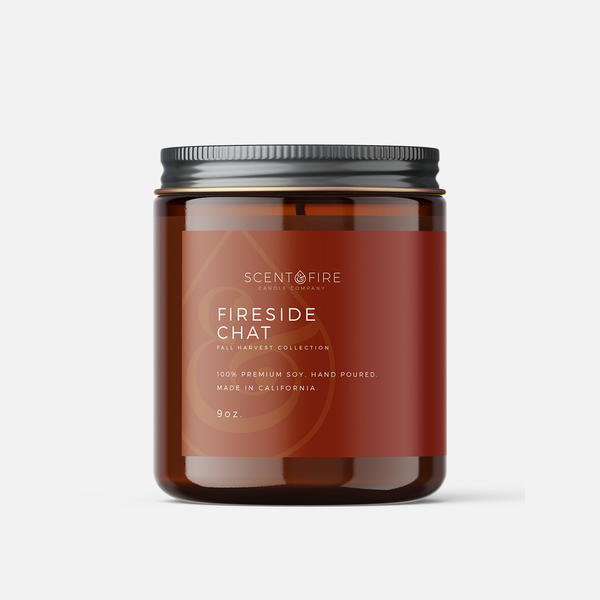 Fireside Chat - Scent & Fire Candle Co.