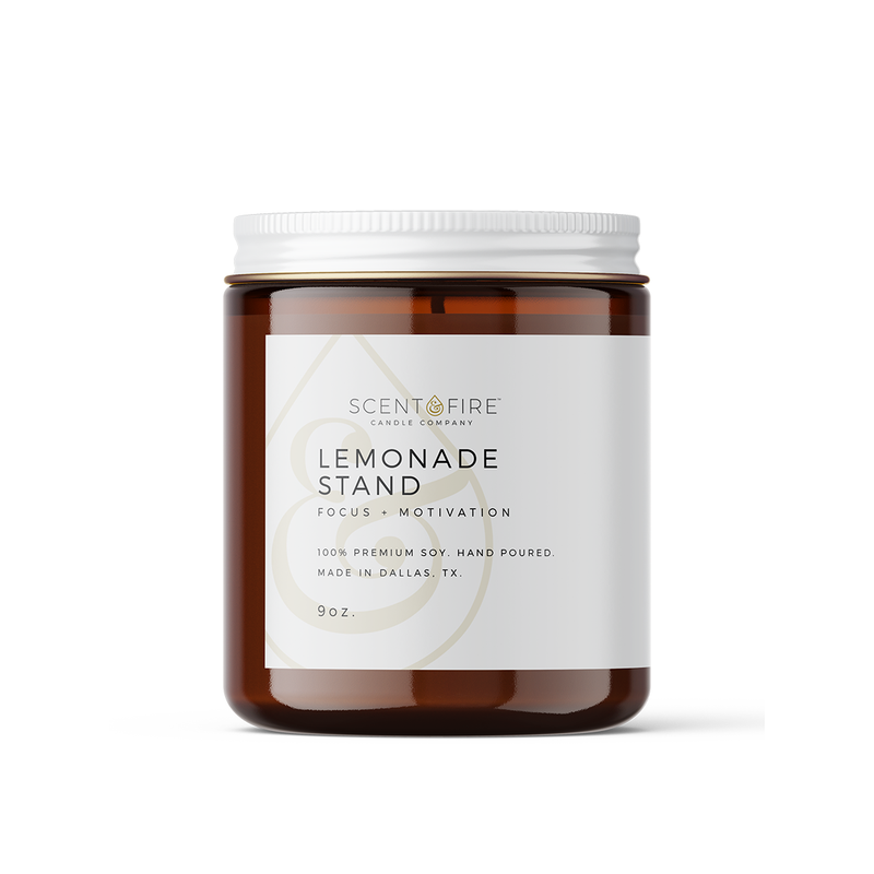 Lemonade Stand - Scent & Fire Candle Co.