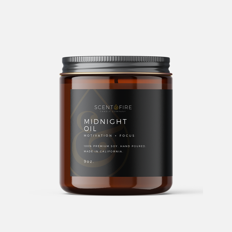 Midnight Oil - Scent & Fire Candle Co.