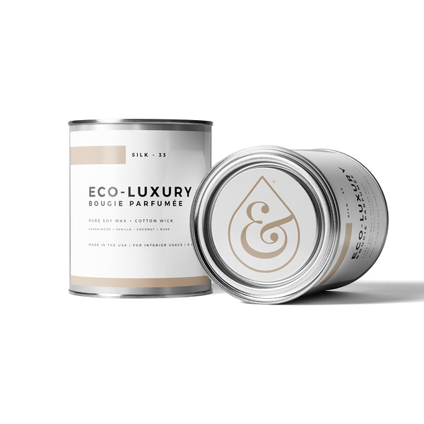 Silk 33 - Candle in a Paint Can - Scent & Fire Candle Co.