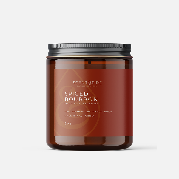 Spiced Bourbon - Scent & Fire Candle Co.